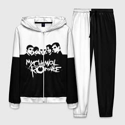 Костюм мужской My Chemical Romance B&W цвета 3D-белый — фото 1