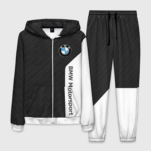 Мужской костюм BMW Motorsport: Black Carbon / 3D-Белый – фото 1
