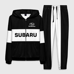 Костюм мужской Subaru: Black Sport цвета 3D-черный — фото 1