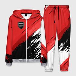 Костюм мужской FC Arsenal: Original цвета 3D-меланж — фото 1