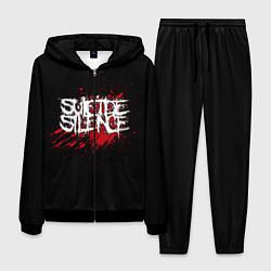 Костюм мужской Suicide Silence Blood цвета 3D-черный — фото 1