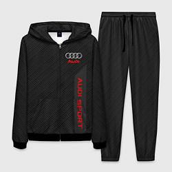 Костюм мужской Audi: Sport Line цвета 3D-черный — фото 1