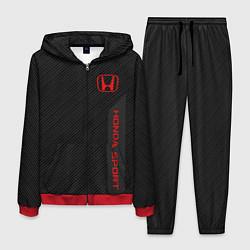 Костюм мужской Honda: Sport Line цвета 3D-красный — фото 1
