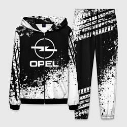 Костюм мужской Opel: Black Spray цвета 3D-черный — фото 1