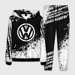 Костюм мужской Volkswagen: Black Spray цвета 3D-черный — фото 1