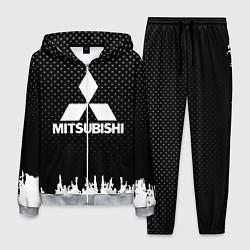 Костюм мужской Mitsubishi: Black Side цвета 3D-меланж — фото 1