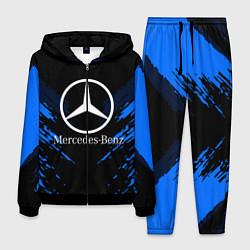 Костюм мужской Mercedes-Benz: Blue Anger цвета 3D-черный — фото 1
