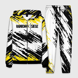 Костюм мужской Rainbow Six Siege: Yellow цвета 3D-черный — фото 1