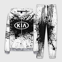 Костюм мужской KIA: Black Spray цвета 3D-меланж — фото 1