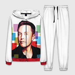 Костюм мужской Илон Маск цвета 3D-красный — фото 1