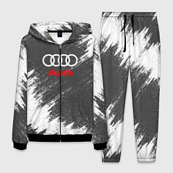 Костюм мужской Audi: Grey Colors цвета 3D-черный — фото 1