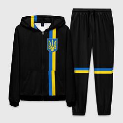 Костюм мужской Украина цвета 3D-черный — фото 1