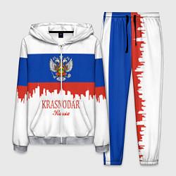 Костюм мужской Krasnodar, Russia цвета 3D-меланж — фото 1