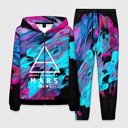 Костюм мужской 30 STM: Neon Colours цвета 3D-черный — фото 1