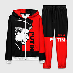 Костюм мужской Putin: Red Style цвета 3D-белый — фото 1