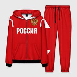 Костюм мужской Сборная России цвета 3D-черный — фото 1