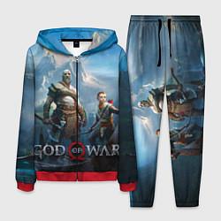 Костюм мужской God of War цвета 3D-красный — фото 1