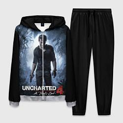 Костюм мужской Uncharted 4: A Thief's End цвета 3D-меланж — фото 1
