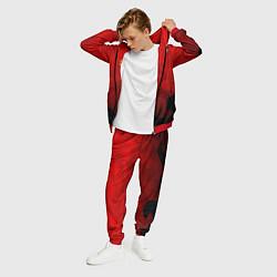 Костюм мужской FC Man UTD: Red Poly цвета 3D-красный — фото 2