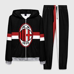 Костюм мужской AC Milan 1899 цвета 3D-меланж — фото 1