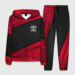 Костюм мужской Toyota: Red Sport цвета 3D-красный — фото 1