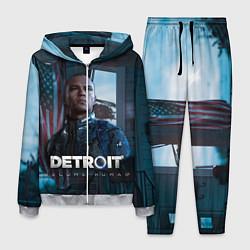 Костюм мужской Detroit: Markus цвета 3D-меланж — фото 1
