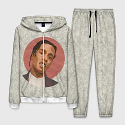 Костюм мужской ASAP Rocky: Runrise цвета 3D-белый — фото 1