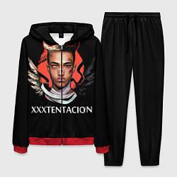 Костюм мужской XXXTentacion: Angel & Demon цвета 3D-красный — фото 1