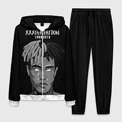 Костюм мужской XXXTentacion: 1998-2018 цвета 3D-белый — фото 1