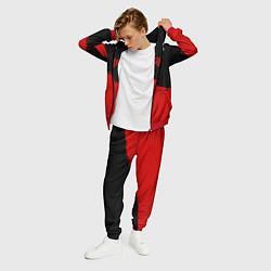 Костюм мужской Skillet: Red Section цвета 3D-красный — фото 2