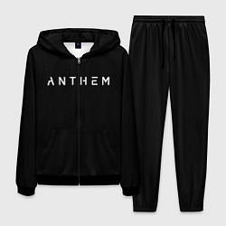 Костюм мужской ANTHEM: Black Style цвета 3D-черный — фото 1