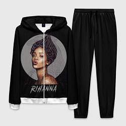 Костюм мужской Rihanna цвета 3D-белый — фото 1