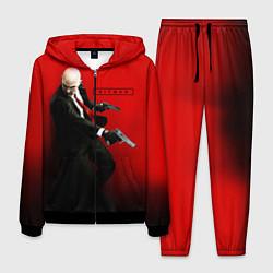 Костюм мужской Hitman: Red Agent цвета 3D-черный — фото 1