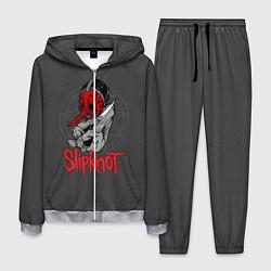 Костюм мужской Slipknot Chris Fehn цвета 3D-меланж — фото 1