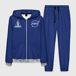Костюм мужской NASA: Special Form цвета 3D-меланж — фото 1