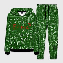 Костюм мужской E=mc2: Green Style цвета 3D-черный — фото 1