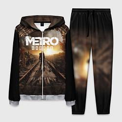 Костюм мужской Metro Exodus: Sunset цвета 3D-меланж — фото 1