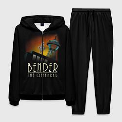 Костюм мужской Bender The Offender цвета 3D-черный — фото 1