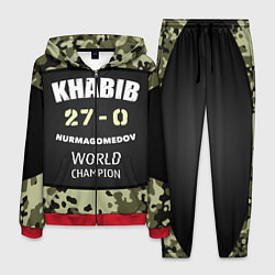 Костюм мужской Khabib: 27 - 0 цвета 3D-красный — фото 1