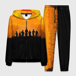 Костюм мужской Red Dead Redemption: Orange Sun цвета 3D-черный — фото 1
