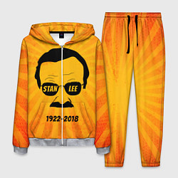 Костюм мужской Stan Lee 1922-2018 цвета 3D-меланж — фото 1