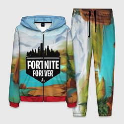 Костюм мужской Fortnite Forever цвета 3D-красный — фото 1