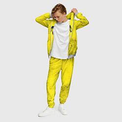 Костюм мужской Metro Exodus: Yellow Grunge цвета 3D-меланж — фото 2