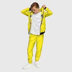 Костюм мужской Brazzers: Yellow Banana цвета 3D-черный — фото 2