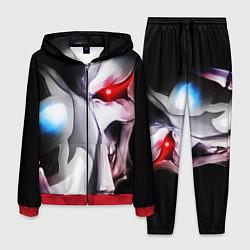 Костюм мужской Overlord - Ainz Ooal Gown цвета 3D-красный — фото 1