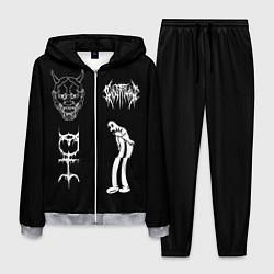 Костюм мужской Ghostemane: Mercury Sign цвета 3D-меланж — фото 1