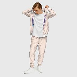 Костюм мужской Бездомный Бог цвета 3D-белый — фото 2
