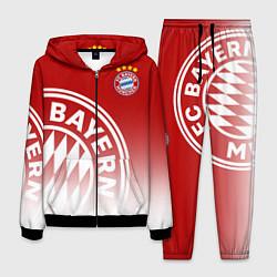 Костюм мужской ФК Бавария цвета 3D-черный — фото 1