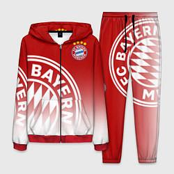 Костюм мужской ФК Бавария цвета 3D-красный — фото 1