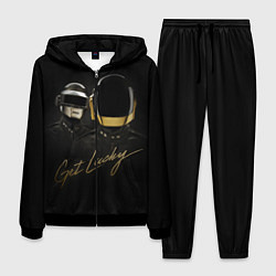 Костюм мужской Daft Punk: Get Lucky цвета 3D-черный — фото 1